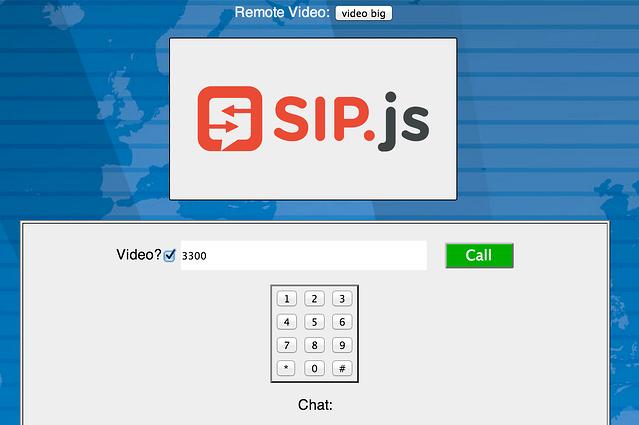 SIP js: Open Source, JavaScript SIP Stack for WebRTC Developers