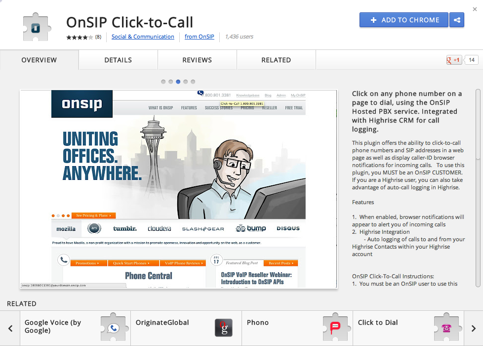 Have You Tried Using Click-to-Call with Our Google Chrome