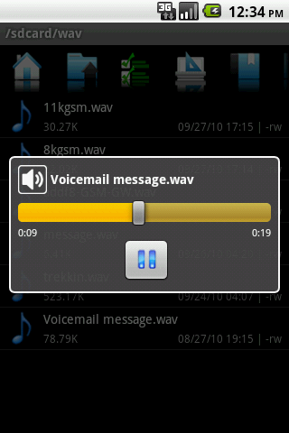 A Free Way to Listen to  wav Files on Your Android Device