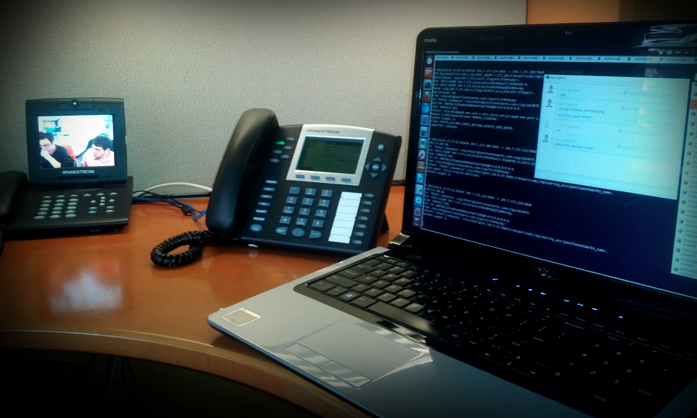Working Remotely: Local Presence Through SIP and XMPP Communication