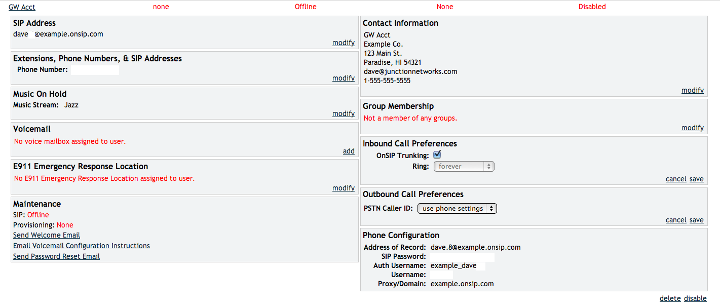SIP Trunking: Free With OnSIP Account