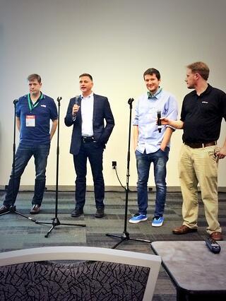 john talking signaling options at webrtc conference and expo