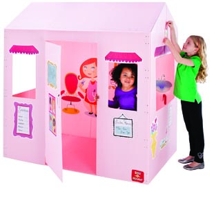 Kids playing in a Box-O-Mania