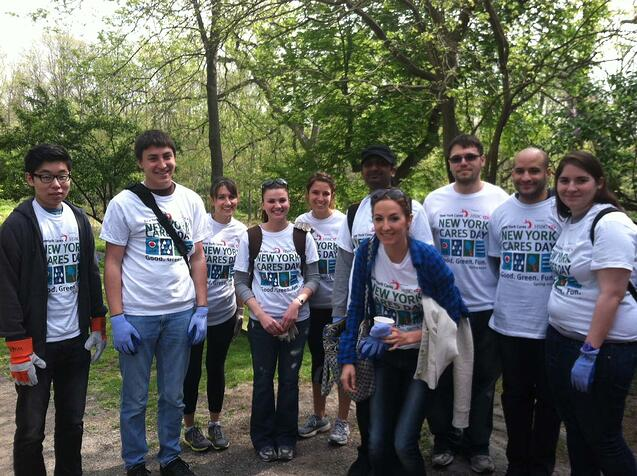 OnSIP Team at New York Cares Day