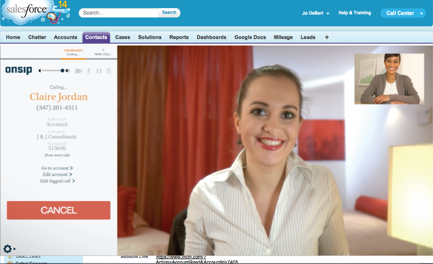 InstaPhone in Salesforce Brings Instant Video Calls and Advanced CRM To World's Leading Customer Service Platform