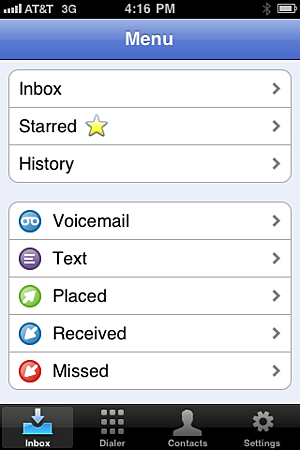 iPhone and Google Apps Users Beware (or Rejoice): Google Voice Wants In!