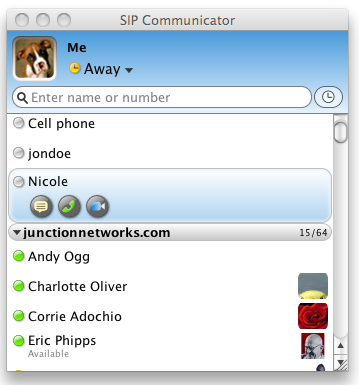 SIP Communicator