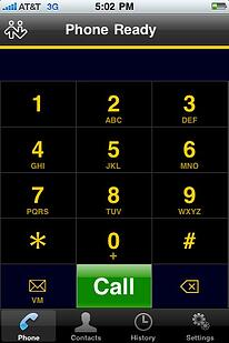 Phone Config Screen