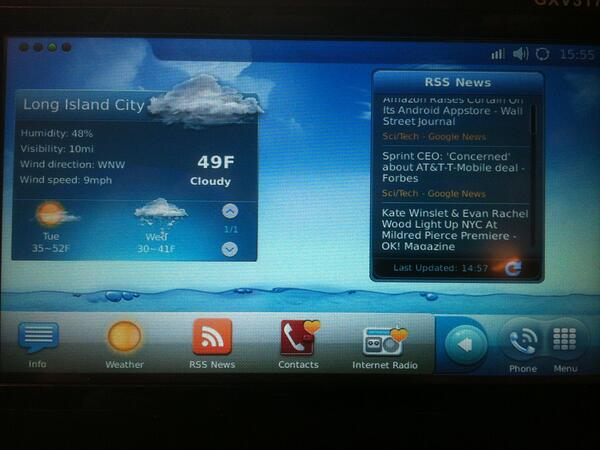 Grandstream GXV3175 Home Screen