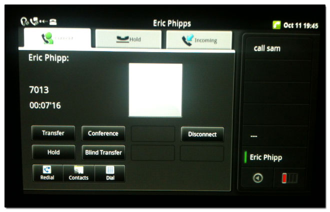 how to call voicemail panasonic kx-t7630