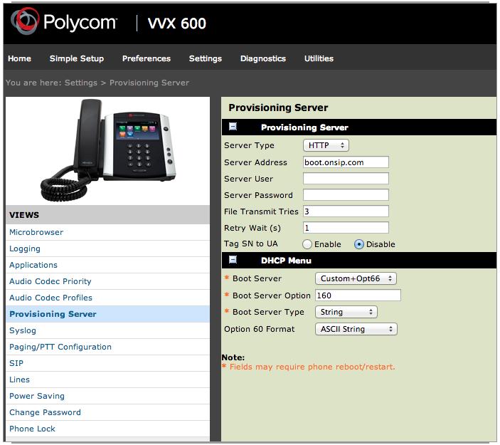 Polycom VVX 600