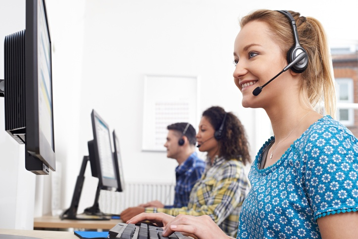 Headsets with business VoIP phones will offer call agents much flexibility during their workdays