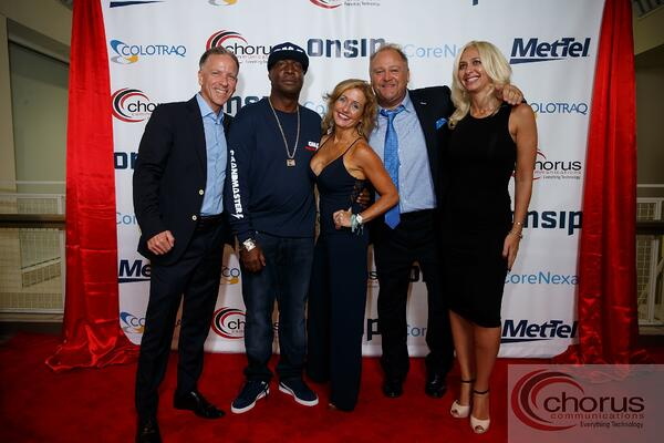 The Chorus Communications Team with Grandmaster Flash