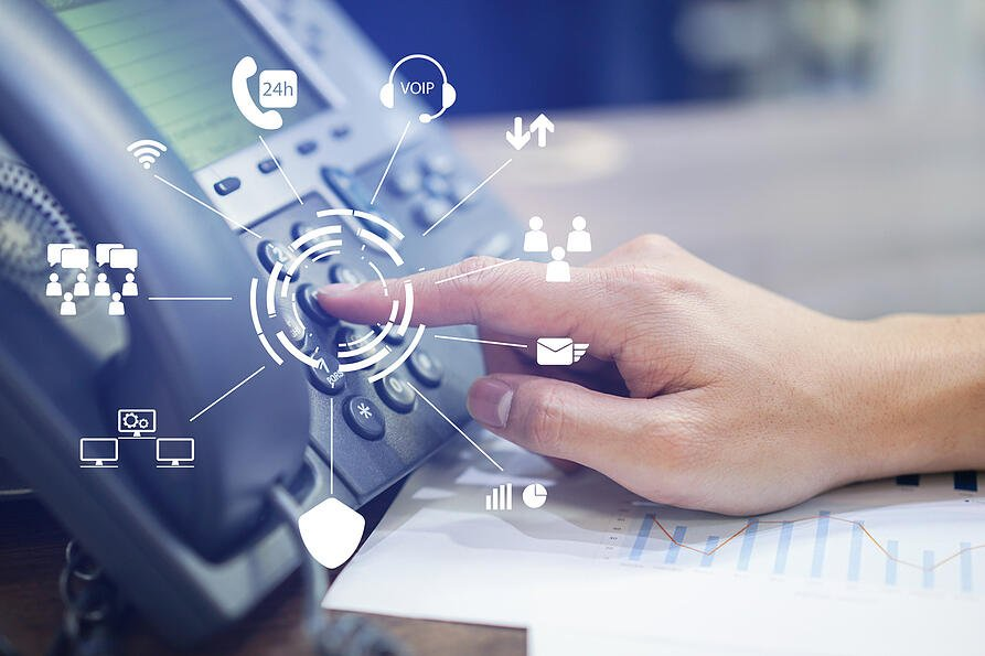 Phone system options for commercial real estate firms