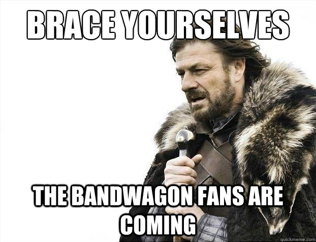 Game of Thrones, bandwagon, Sean Bean