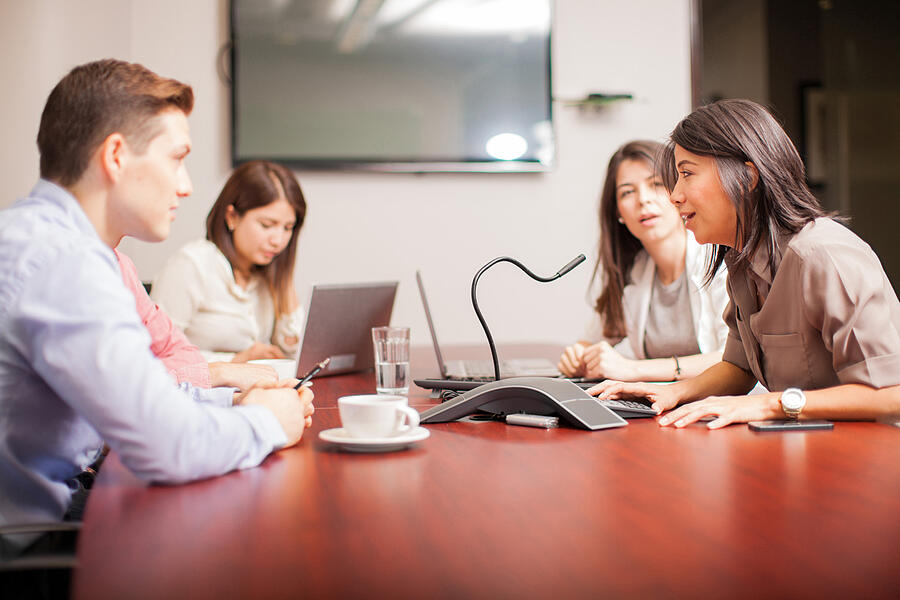 The Step by Step Guide to Chairing a Business Conference Call (iStock-479310518)