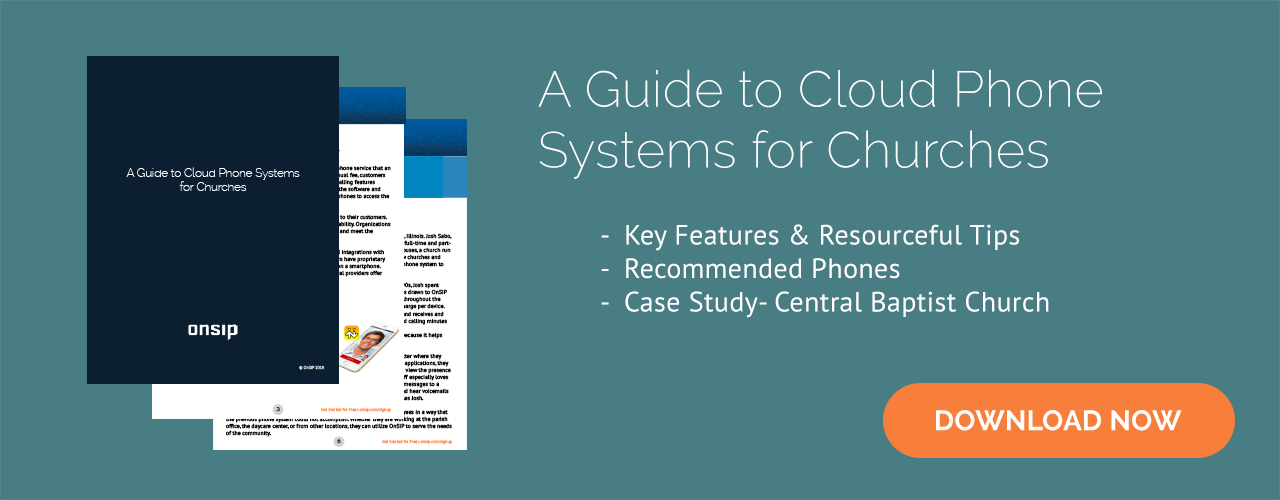 Download our free guide on cloud phone systems for churches!