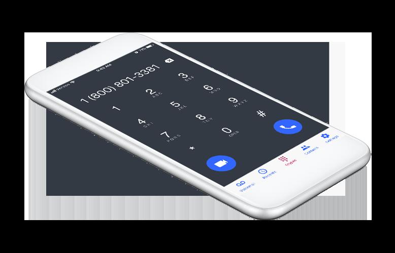 OnSIP mobile app