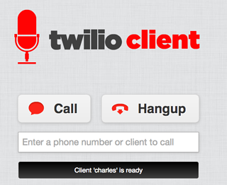 Twilio Webphone