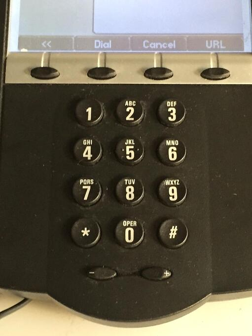 The LNP process lets you keep your business phone number.