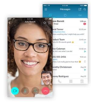 The Vonage mobile app