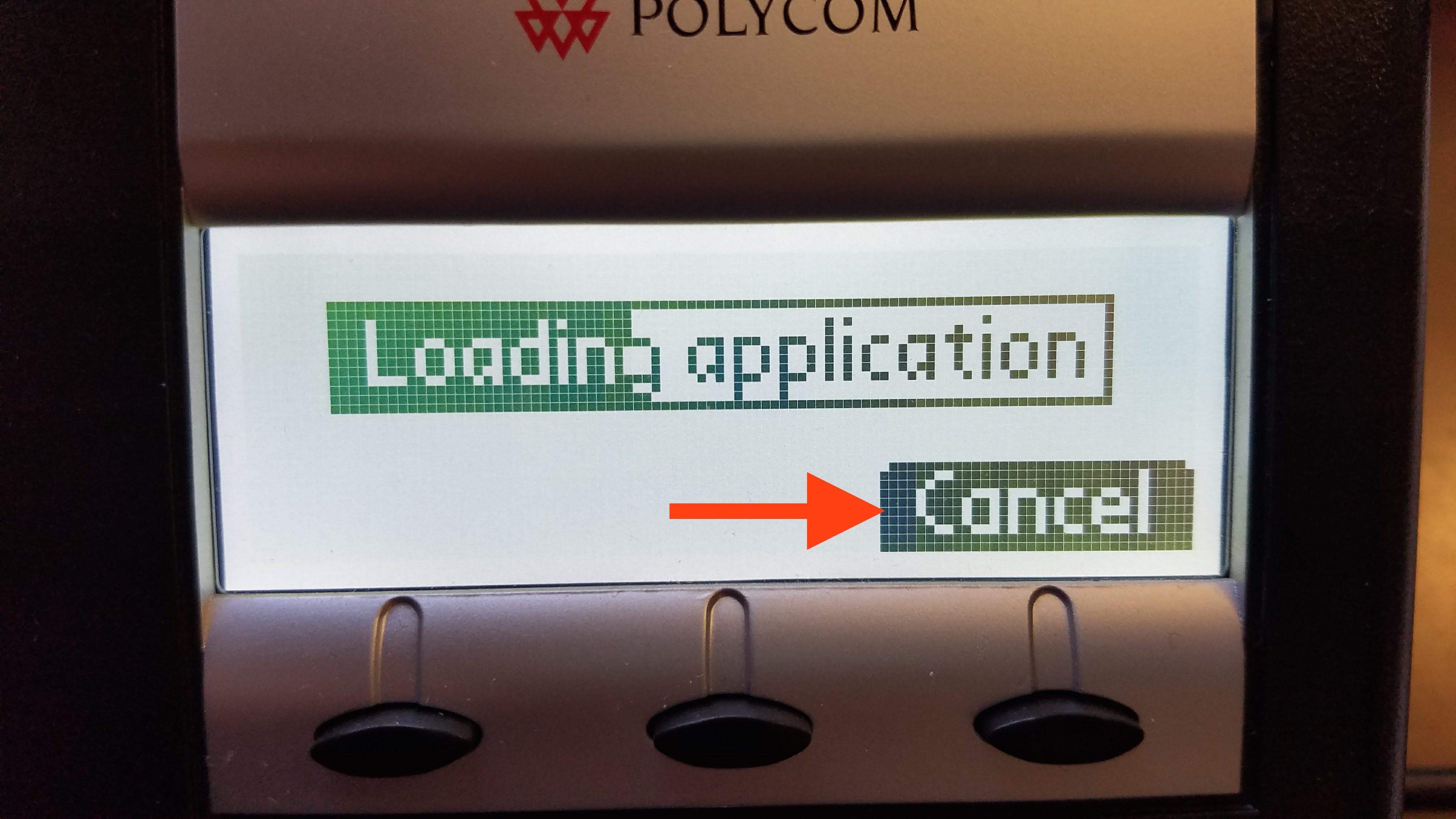 Polycom phone reset to factory default