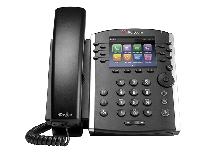 Reset Polycom phone to factory default